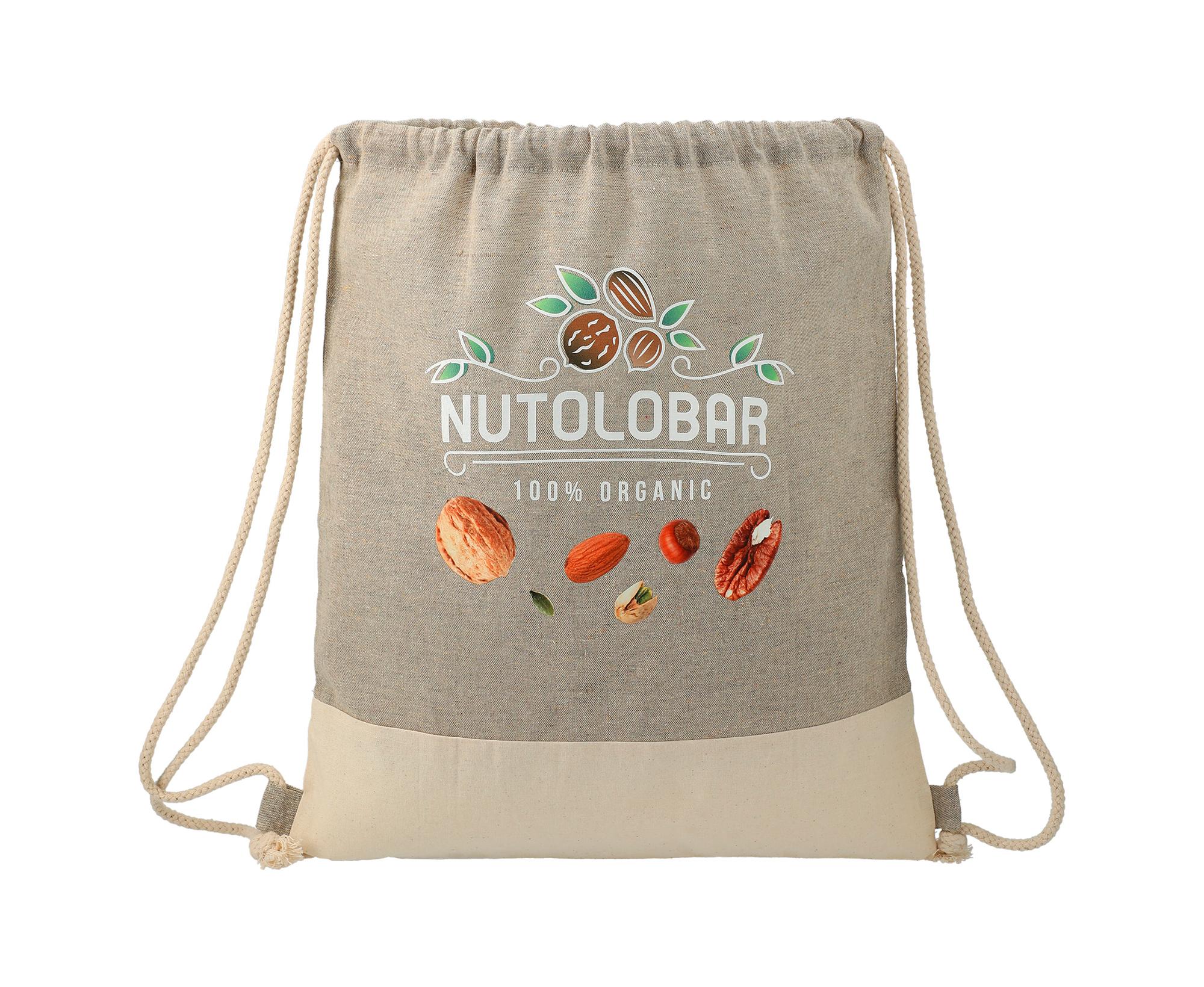 recycled cotton drawstring bag2
